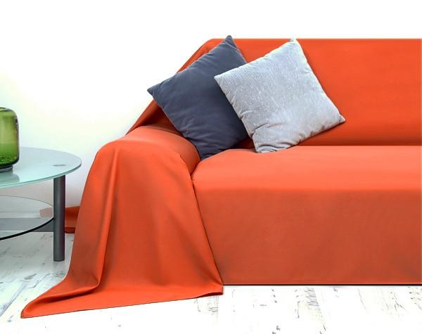 tagesdecke plaid decke sofa bett sessel berwurf sofa berwurf 140x210cm terra ebay. Black Bedroom Furniture Sets. Home Design Ideas