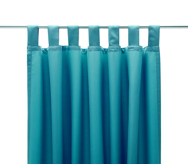 schlaufenschal schal schlaufe vorhang gardine microfaser t rkis. Black Bedroom Furniture Sets. Home Design Ideas