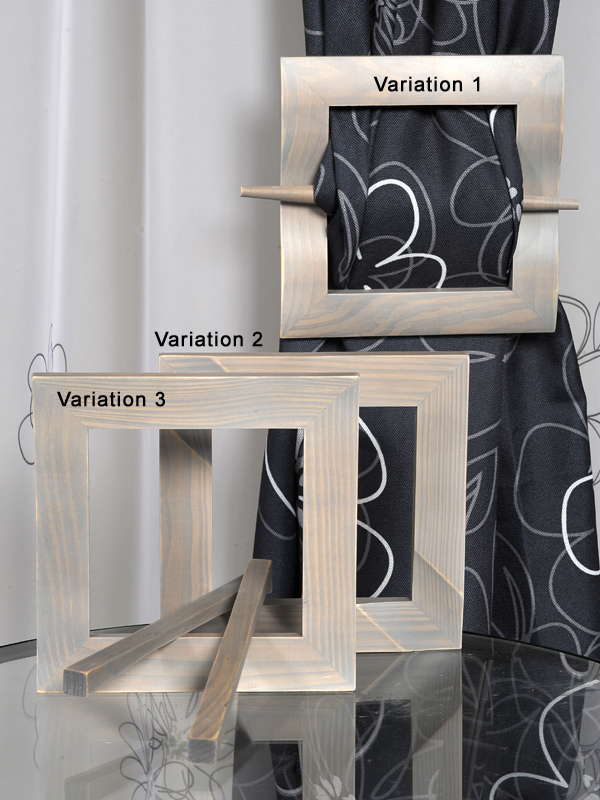 raffhalter vorhanghalter gardine halter div farben ebay. Black Bedroom Furniture Sets. Home Design Ideas