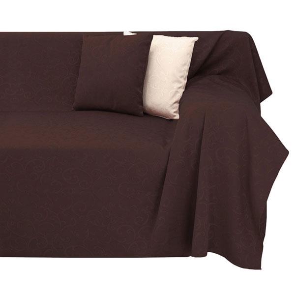 tagesdecke tages decke plaid decken plaids berwurf rio jacquard 140x210cm braun ebay. Black Bedroom Furniture Sets. Home Design Ideas