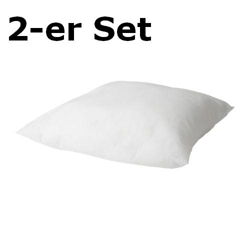 ikea 2 x kopfkissen gosa slan 80x80cm kissen bauchlage ebay. Black Bedroom Furniture Sets. Home Design Ideas