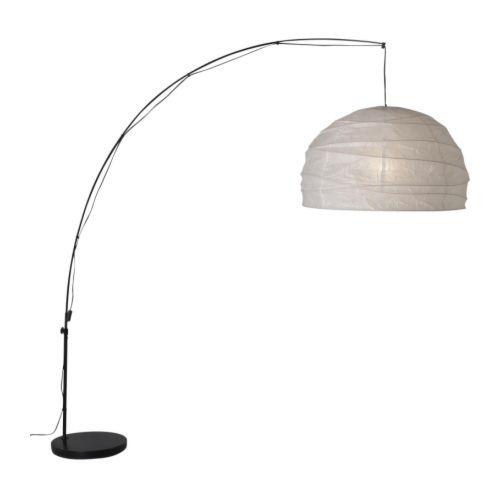 ikea standleuchte regolit bogenlampe bogenleuchte 235cm ebay. Black Bedroom Furniture Sets. Home Design Ideas