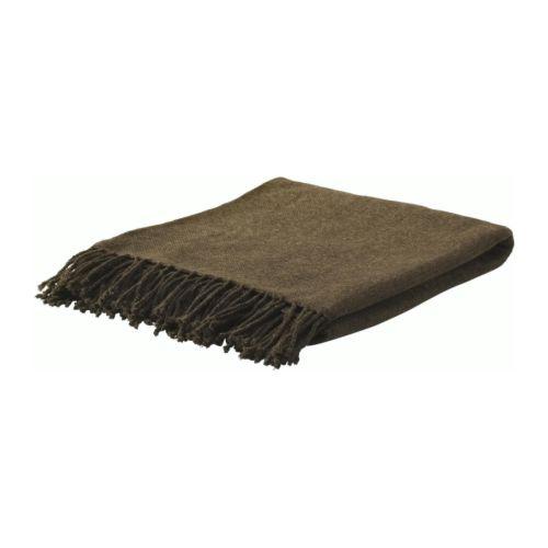 ikea plaid felicia kuscheldecke 130x170 decke braun neu ebay. Black Bedroom Furniture Sets. Home Design Ideas