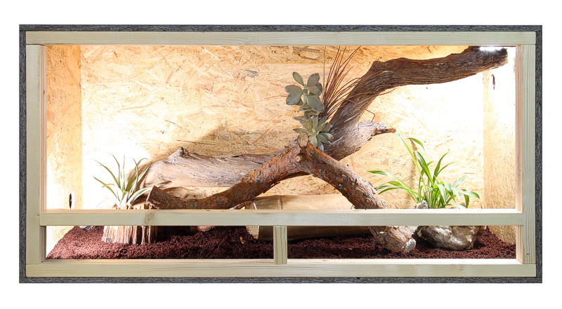 holz terrarium 120 x 60 x 60 esb platte holzterrarium ebay. Black Bedroom Furniture Sets. Home Design Ideas