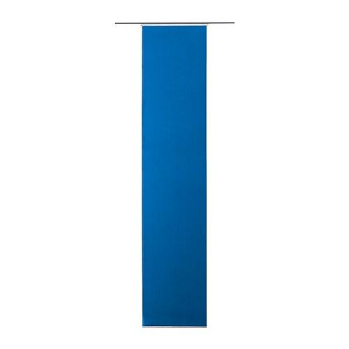 ikea schiebegardine flyn gardine 60 x 300cm blau neu ebay. Black Bedroom Furniture Sets. Home Design Ideas