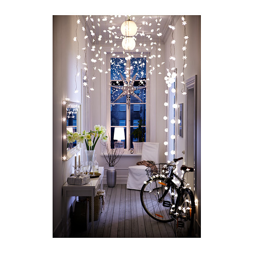 ikea h ngeleuchte strala weihnachtsstern lampe 100cm durchmesser in rot neu ebay. Black Bedroom Furniture Sets. Home Design Ideas
