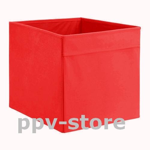 ikea regalfach box dr na aufbewahrung einsatz f r kallax expedit besta in rot ebay. Black Bedroom Furniture Sets. Home Design Ideas