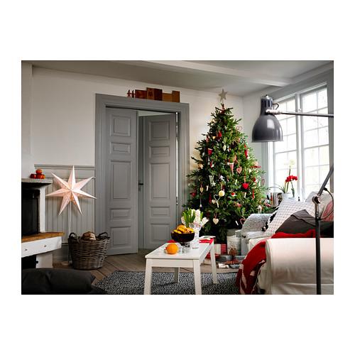 ikea standleuchte strala weihnachtsstern lampe 120cm hoch silber neu ebay. Black Bedroom Furniture Sets. Home Design Ideas