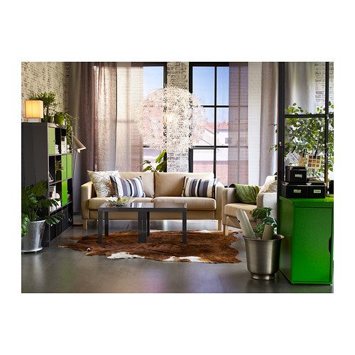 ikea h ngelampe maskros papierleuchte 55cm durchmesser in l wenzahn optik. Black Bedroom Furniture Sets. Home Design Ideas