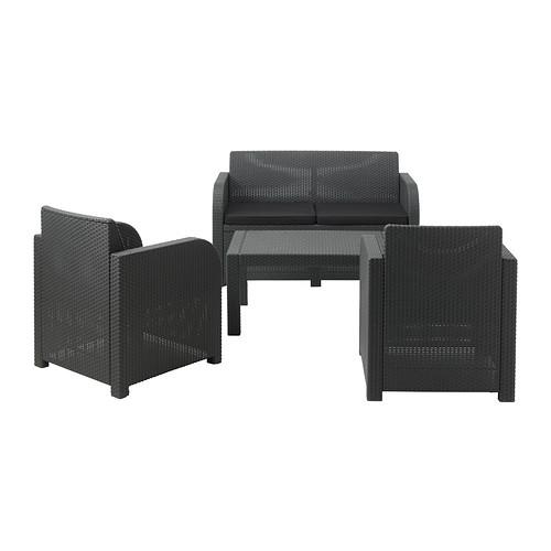 rattan gartenm bel ikea. Black Bedroom Furniture Sets. Home Design Ideas